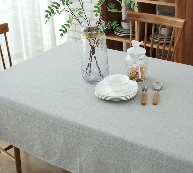 Европейские скатертей загрязнения воды простой сплошной цвет хлопка и льняные скатерти скатерть кафе столик журнальный столик ткань скатерти книга - Taobao
