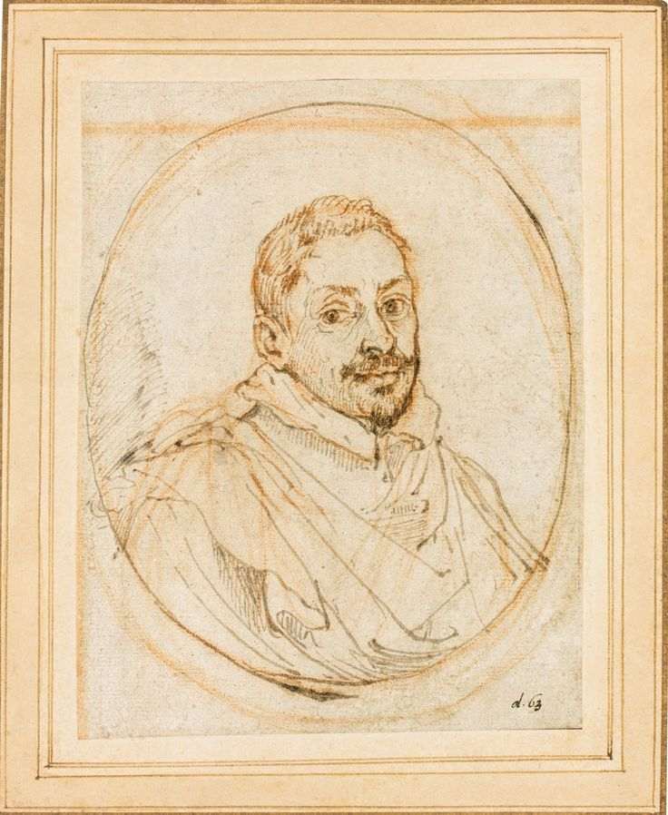 Francesco Albani - Portrait of a Man.
