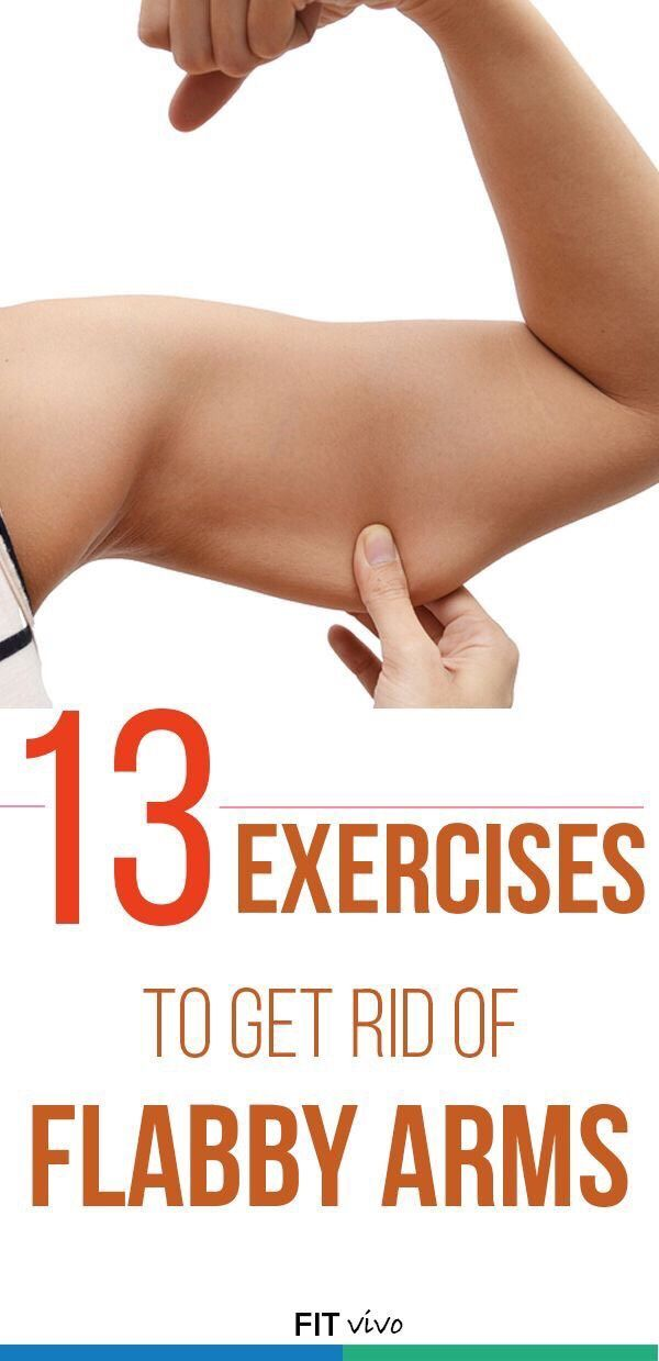 13 Exercises To Get Rid Of Flabby Arms!!