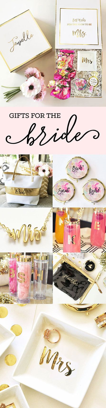 10 Ideas About Bride Gifts On Pinterest Bridesmaid