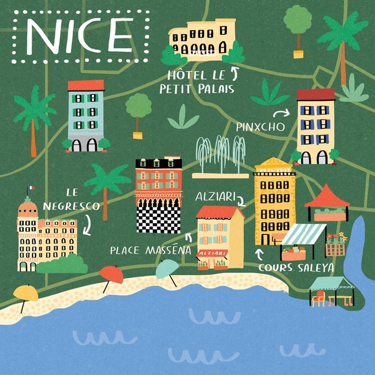 Best 25 Map Of Nice France Ideas On Pinterest Nice France Map Tours
