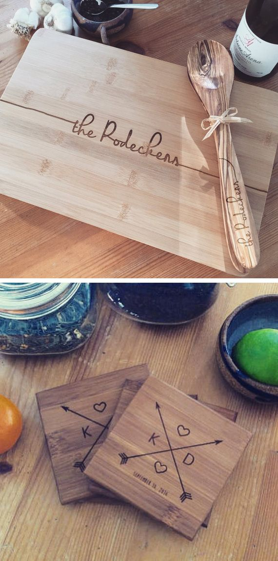 Personalized and functional gifts for you and yours ♡ Wood Be Mine's unique and eco-friendly cutting boards, coasters, and serving boards are perfect for a wedding, housewarming, anniversary, or any special occasion needing a personal and creative touch ♡ woodbemine.etsy.com woodbemine.com