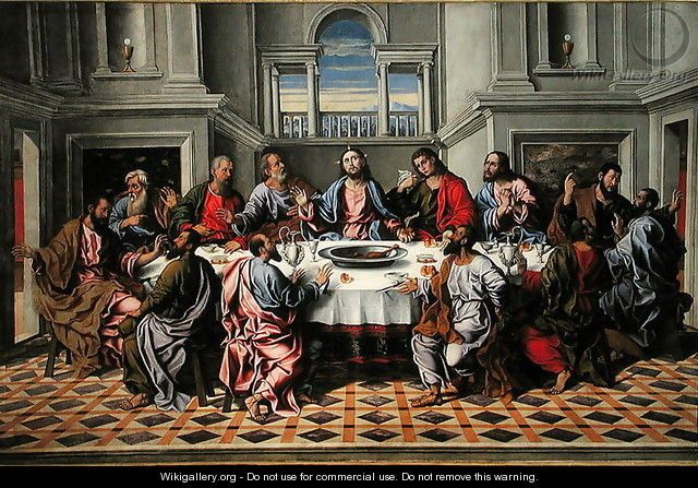 L'Ultima Cena - Girolamo da Santacroce
