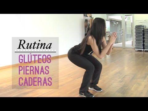 Ejercicios intensos de piernas, glúteos y caderas - YouTube