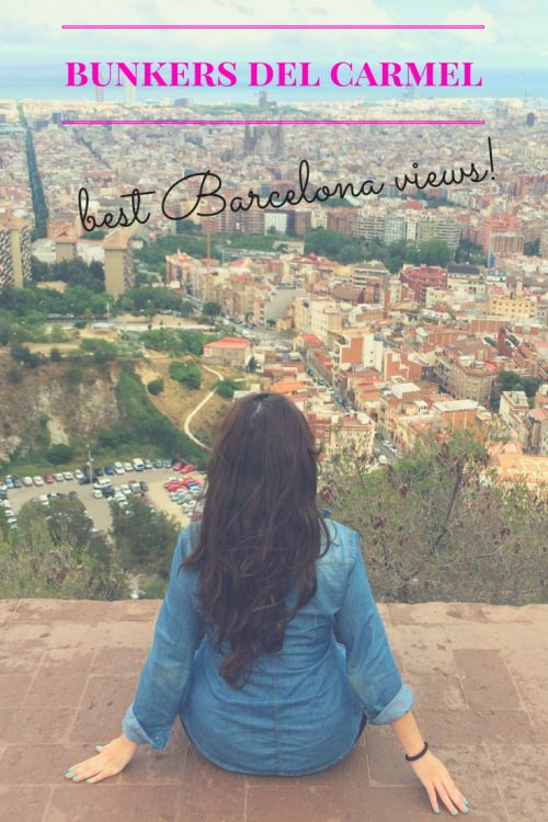 Getting the best views of the city in the Bunkers del Carmel (Turó de la Rovira) is my favorite free activity in Barcelona.
