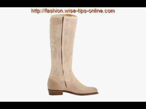 Every woman who loves the simple, sleek design will love #Frye Dorado Inside Zip boot. Nice low heel complements the tall shaft which ends with the curvy collar. For added style there is a buckle detail at the top of the shaft.