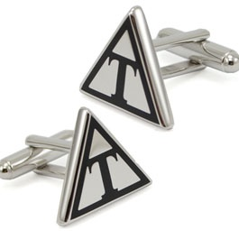 Triangle Fraternity Cuff Links