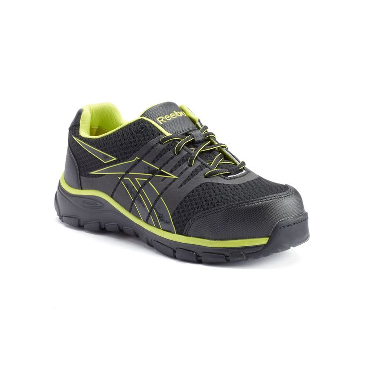 Reebok Work Arion Men's Composite-Toe Shoes, Size: medium (10.5), Black