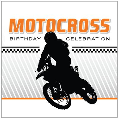 Motocross Birthday Party - Free Birthday Party Printables Collection by I Heart to Party
