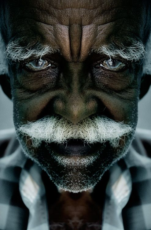 Mustache, Havana Cuba - by Shahriar Nouri