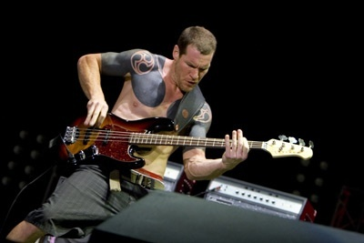 Tim Commerford from Rage Against the Machine/Audioslave