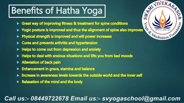 Learn more about the #Hatha_yoga benefits and start to practice the Hatha yoga sequences. ​Join #Yoga_TTC_in_Rishikesh at #Swami_Vivekananda_Yoga & Meditation School based on traditional-hatha-yoga mixed with modern yogic science. Certified by the #Yoga_Alliance International this course will deepen your #yogic_knowledge and encourage you to live yogic life. visit us https://svyogaschool.com/200-hour-yoga-teacher-training-in-rishikesh-india.html