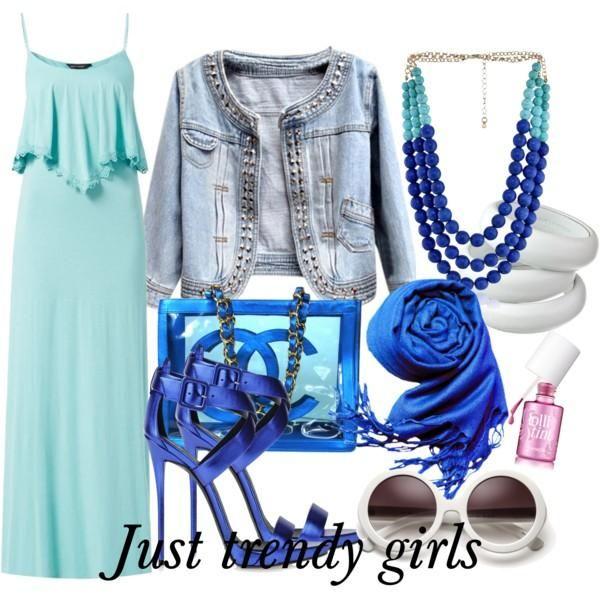 maxi dress in pastel  Maxi summer dresses for  girls http://www.justtrendygirls.com/maxi-summer-dresses-for-girls/