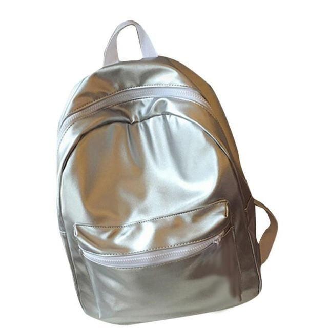 2016 Women Shoulder Rucksack Girls Leather Travel Satchel Backpack Boys School Bag Backpack mochila feminina #YW