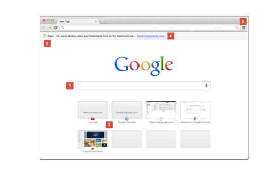 Cómo utilizar la página Nueva pestaña - Ayuda de Google Chrome