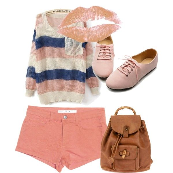 """""""Baby Pink"""" by allieduncan on Polyvore: Babies, Fashion, Polyvore, Baby Pink, Pinterest Closet, Allieduncan"""