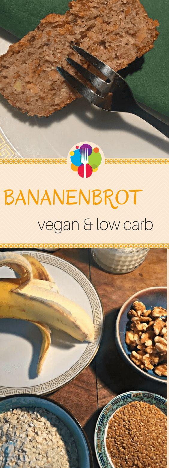 Veganes Bananenbrot low carb. Vegalife Rocks: www.vegaliferocks.de✨ I Fleischlos glücklich, fit & Gesund✨ I Follow me for more vegan inspiration @vegaliferocks #veganesfrühstück #veganbacken #vegan #vegetarisch #veganrezepte #lowcarb #bananabread #bananenbrot