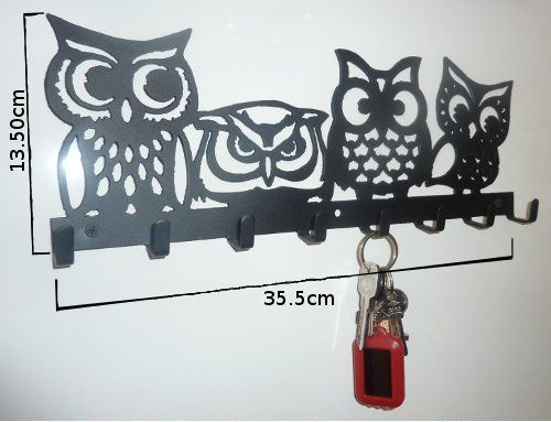 Metal Owl Wall Decor 106 best hooks images on pinterest | wall hooks, coat hooks and
