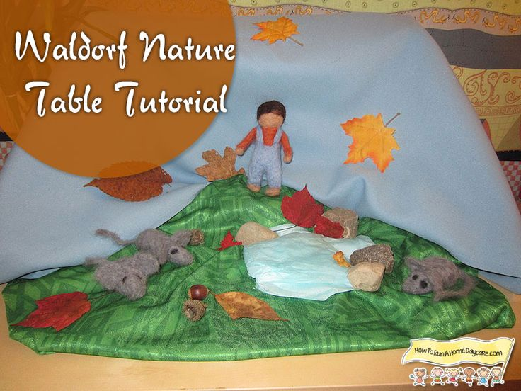 Waldorf Nature Table Tutorial   #waldorf #education #preschool #craft #daycare