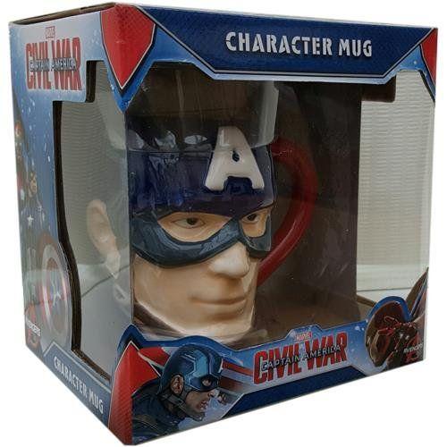 Capitan America Civil War Mug