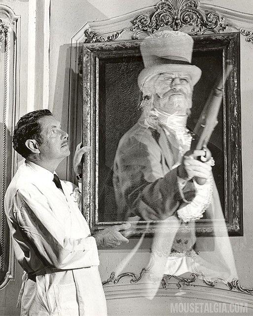 Haunted Mansion press photo, 1969