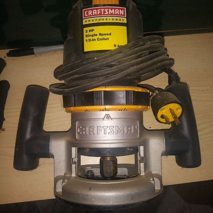 Craftsman Router 2HP, used | Home & Garden, Tools, Power Tools | eBay!
