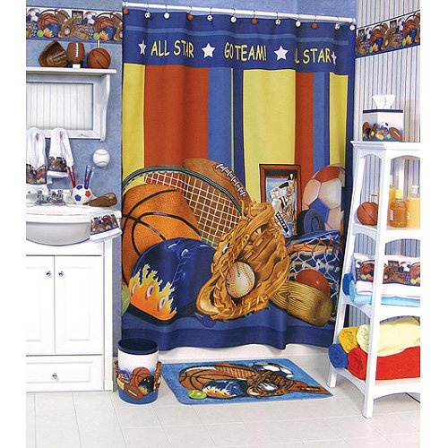 Funny Kids Bathroom Accessories Sports Bathroom Theme Bidycandy Com Kids Bedroom Inspiration
