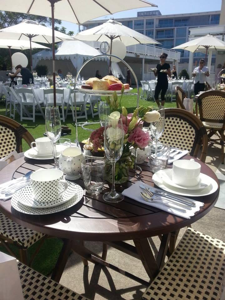 || The beautiful setting thanks to High Tea in a box & Hannah Etherington Flowers || http://timessquare.com.au/lifestyle-and-food/hannah-etherington-flowers || #timessquareclaremont #stmdesignerbridalhightea #hightea #flowers #designer #wedding #bridal #brides #fashion #sun #beautiful #wadesigners #walabels #avionway