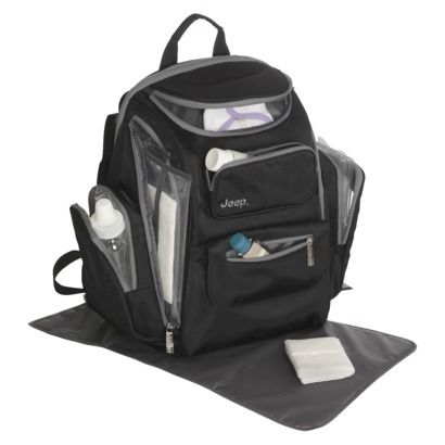 jeep organizer easy access back pack diaper bag black baby things pinterest the o 39 jays. Black Bedroom Furniture Sets. Home Design Ideas
