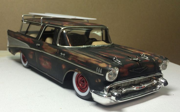 202 Best 1957 Chevrolet Wagon Images On Pinterest 1957