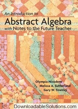 22 best solution manual download 12 images on pinterest textbook download an introduction to abstract algebra with notes to the future teacher solutions manual olympia nicodemi fandeluxe Images