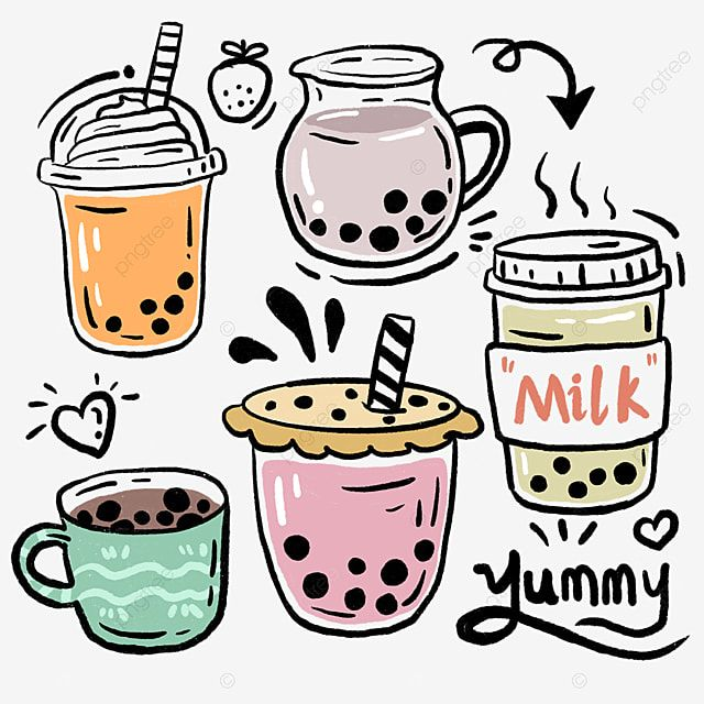 Pearl Milk Tea Cup Beverage Milk Tea Pearl Drink Png Transparent Clipart Image And Psd File For Free Download Milk Tea Tea Illustration Pearl Tea