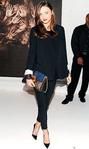 My goal this weekend...find the perfect skinny black pant!
