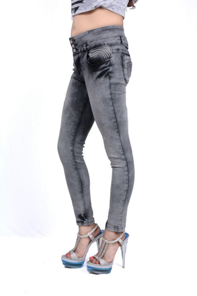 Fasdest Ladies/Women/ Girls Stretchable Slimfit Designer Jeans # TU304