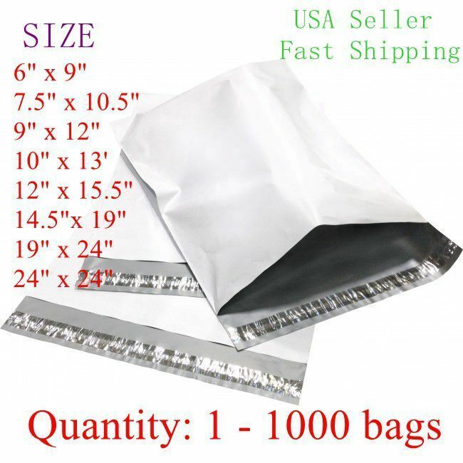 White Poly Mailer Self Sealing Shipping Envelopes Bags Plastic Mailing Bags Ebay Shipping Envelopes Envelope Bag Poly Mailers