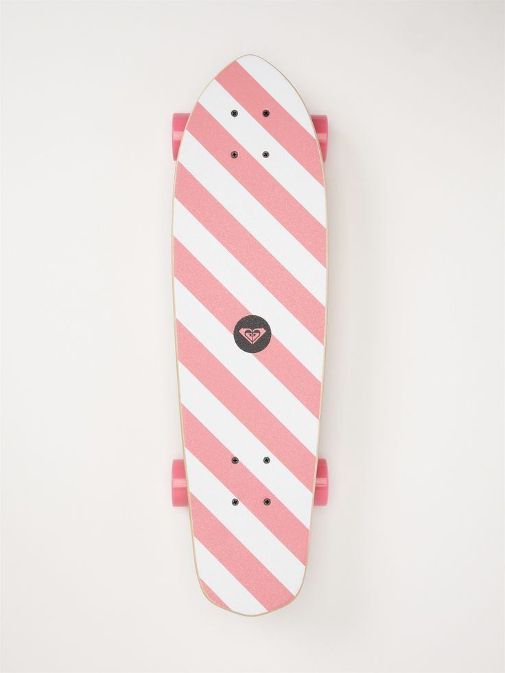 "I want a super cute ""skateboard"" I actually want a longboard and I'm p sure this is a longboard cuz the wheels are bigger and further out and that's what I want so ye (once again, to give me proper girl gang cred)"