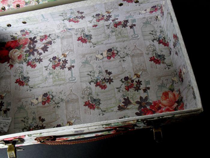 photo n°3 : Boite valise de rangement Grand Format collection Punch Studio modèle Fleur de Triomphe