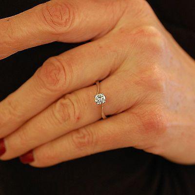 Solitaire-Or-gris-18K-Diamant-Brillant-0-49-Ct-I-VVS2-LFG