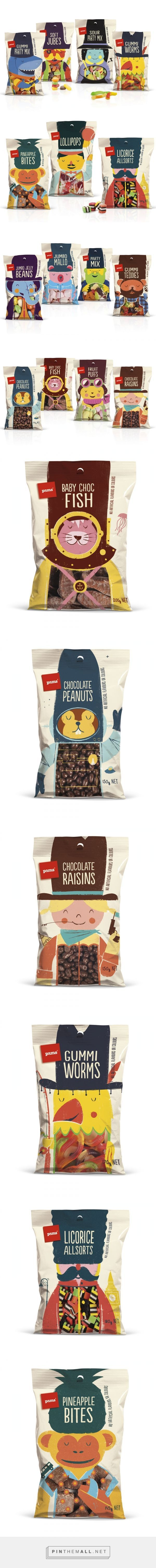 Pams Confectionery Range, Branding & Packaging by Brother Design