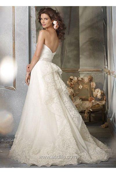 49 best Wedding Gown i like by Suki images on Pinterest | Wedding ...