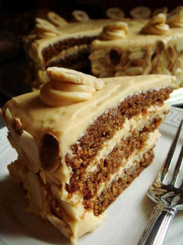 Butterscotch Cake with Caramel Icing – KitchPedia