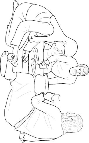 38 best mary anoints jesus feet images on pinterest for Mary and martha coloring page