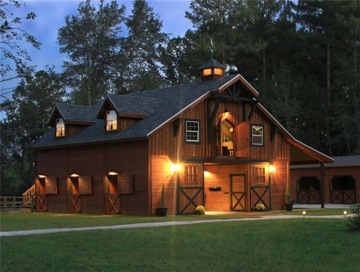 Best 25 prefab barns ideas on pinterest pole barn kits for Barn kits with living quarters