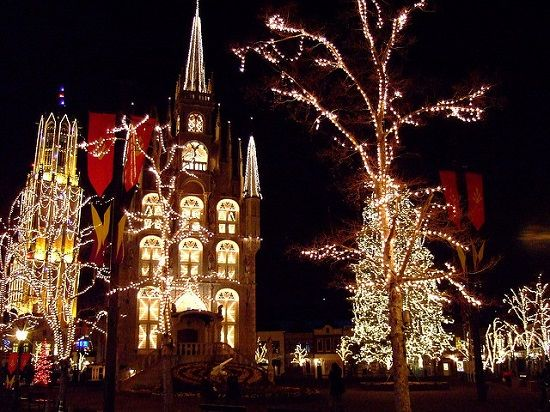 Huis Ten Bosch illumination, Nagasaki