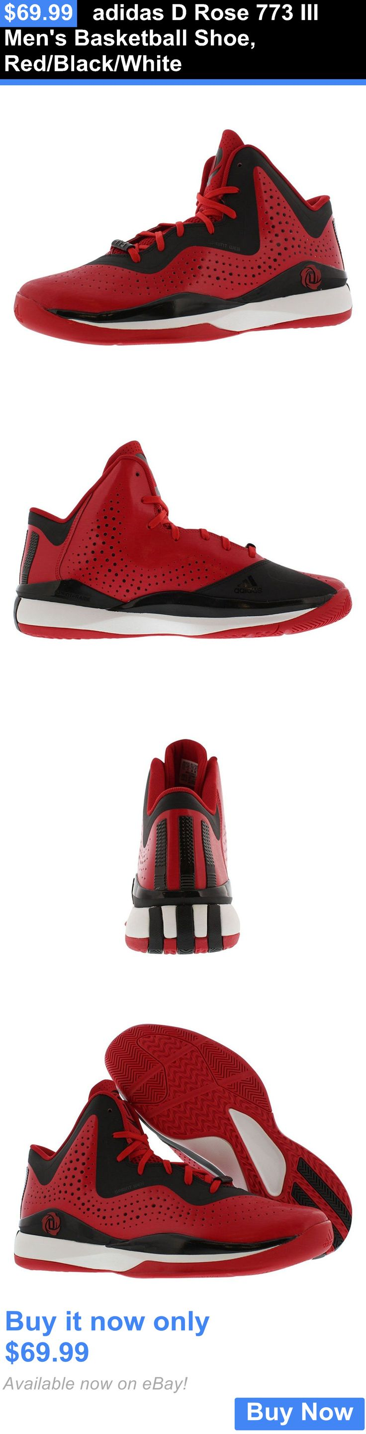 Basketball: Adidas D Rose 773 Iii Mens Basketball Shoe, Red/Black/White BUY IT NOW ONLY: $69.99
