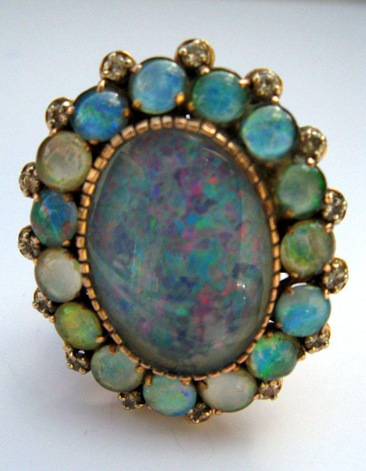 vintage opal ring jemitha