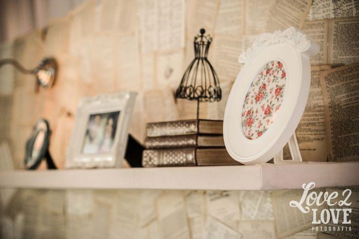 casamento com inspiração em livros | vintage book wedding decor
