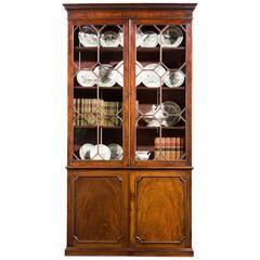 George III Period Mahogany Bookcase