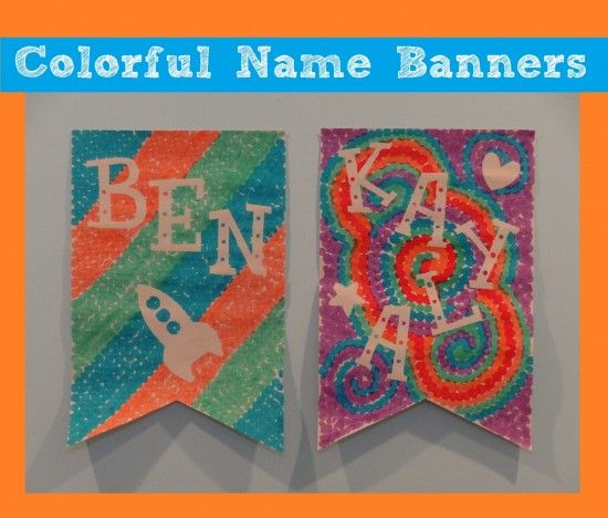 Colorful Back To School Craft for Kids