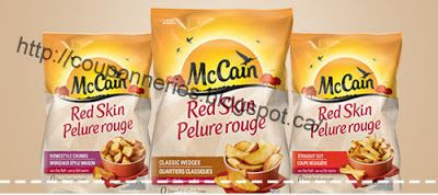 Coupons et Circulaires: 1$ Frites MCCAIN 650gr